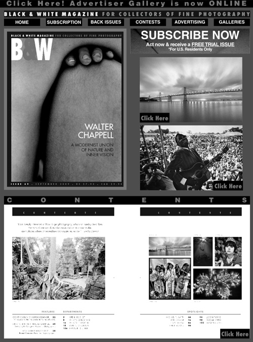 Black & White Magazine