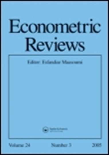 Econometric Reviews