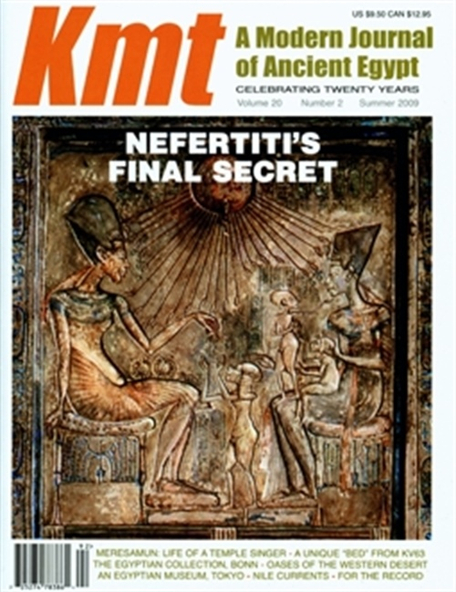 Kmt, A Modern Journal Of Ancient Egypt