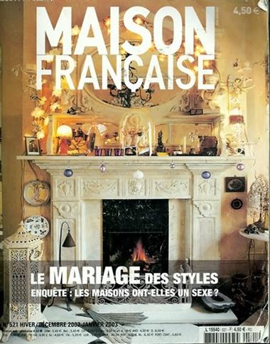 maison francaise magazine lehtitarjous tilaajalahja. Black Bedroom Furniture Sets. Home Design Ideas