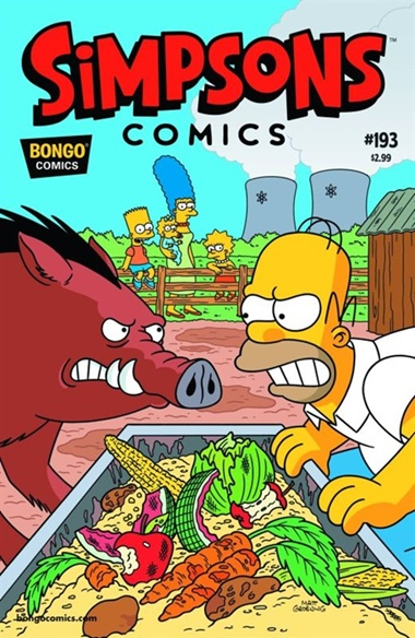 Simpsons The Comic Magazine