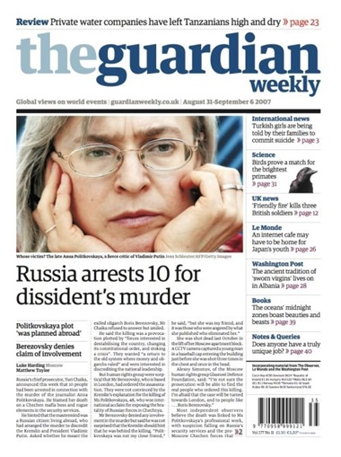 The Guardian Weekly